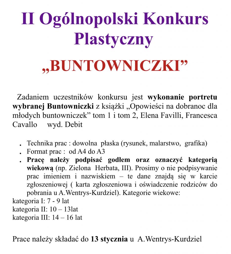 Konkursy Rok Szkolny 20192020 Szkoła Podstawowa Nr 1 W